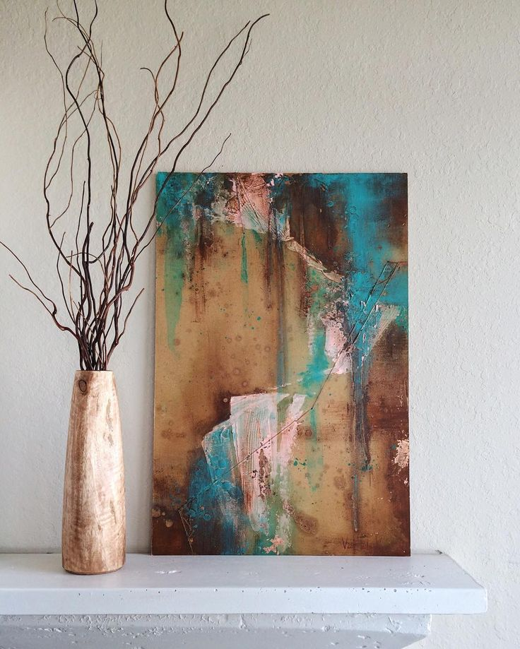 The shop is up and running!!! #MAVworks #etsy #abstract #painting  [Link in bio]
