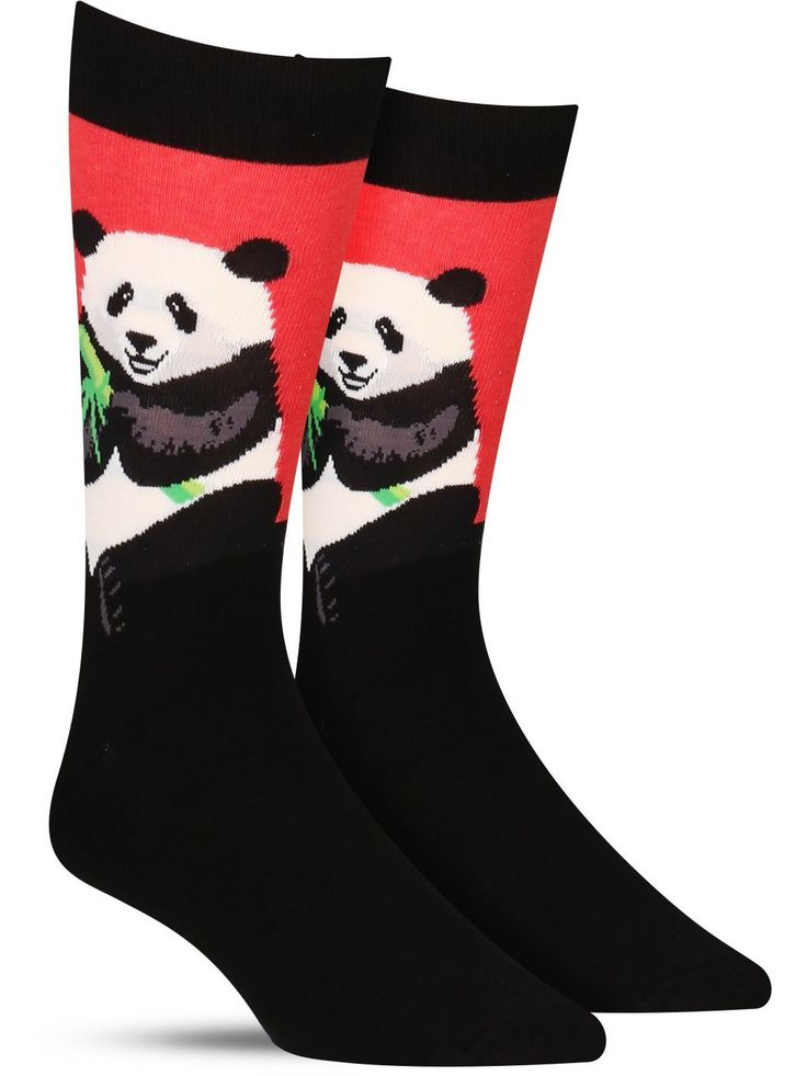 Peaceful Panda Socks | Mens