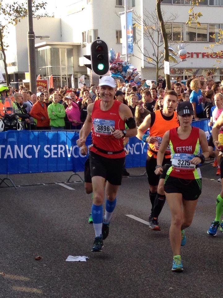 Marathon van Amsterdam, 19 oktober 2014.