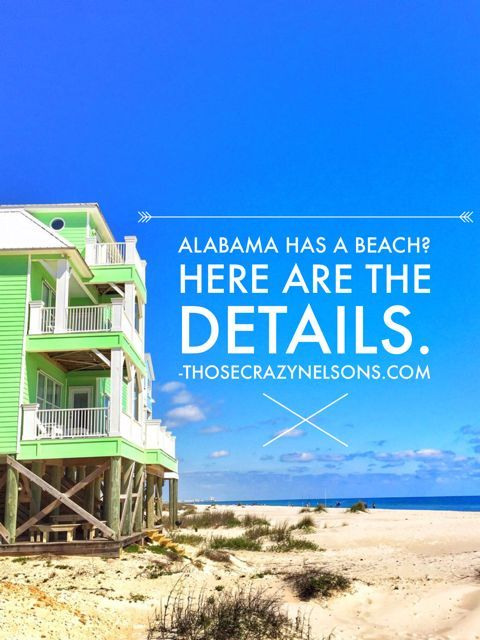 ThoseCrazyNelsons explore Gulf Shores to bring you the best tips!