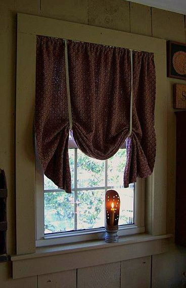 Primitive Curtains, The Gingham Goose