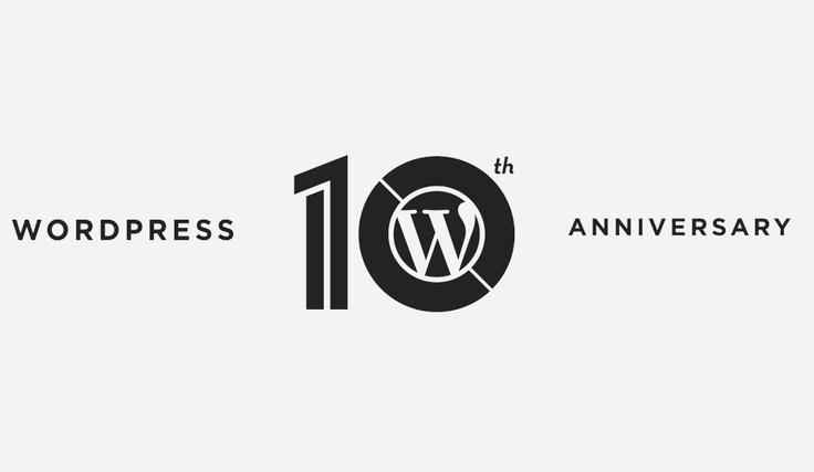 Ma 10 éves az egyik legjobb, legsokoldalúbb blogmotor, a WordPress! Egy infógrafikával tisztelgek az Árpád blog házigazdája előtt!
