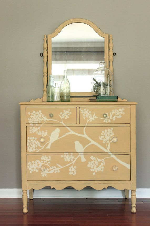 Painted Vanity Furniture: 25+ Best Ideas About Yellow Painted Dressers On Pinterest