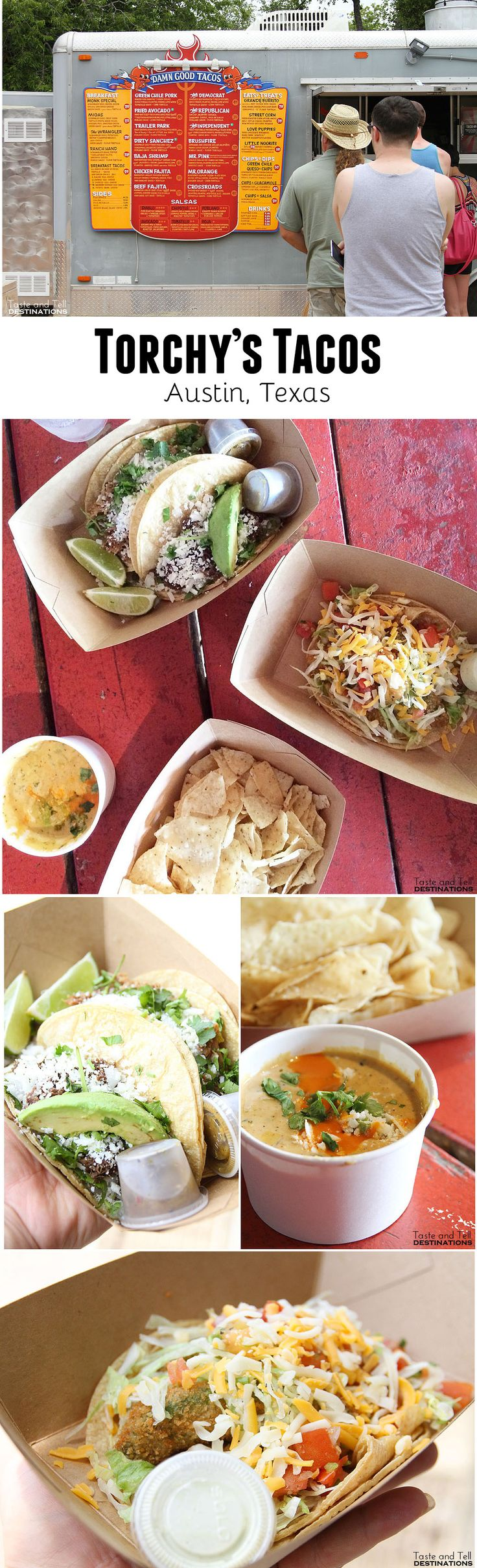 Torchy's Tacos in Austin, Texas - a must for tacos in Texas!!