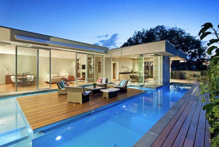 floating deck pool