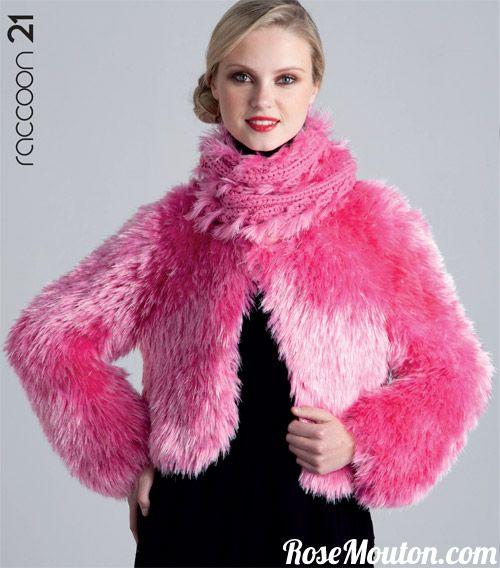 Modèle tricoté avec la laine Raccoon de Lanas Stop : https://www.rosemouton.com/lanas-stop-laine-raccoon-294.html Catalogue Lanas Stop Automne Hiver 125. Découvrez les nombreux modèles de tricot et accessoires de la collection automne hiver de Lanas Stop. #laine #lanasstop #tricot #tricoter #fur #fourrure #fauxfur #knit #knitting #wool  #yarn #rosemouton