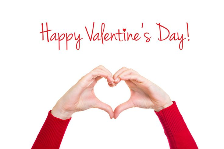 Valentines day greeting card for him image