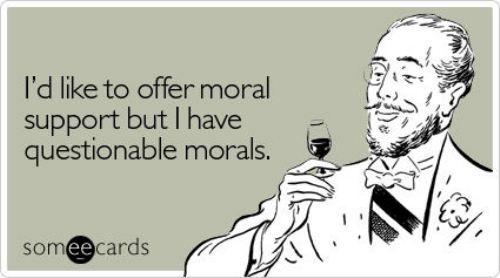 .: Life, Questions Morals, Giggl, Funny Stuff, Humor, Ecards, So Funny, Morals Support, True Stories