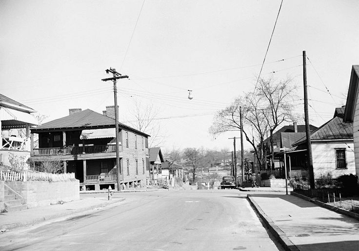 Georgia Southern University Store >> Memorial Drive & Moreland Avenue Atlanta in the 1960's ...