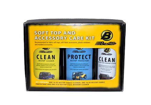 Bestop Jeep Wrangler Soft Top  Window Cleaner Kit