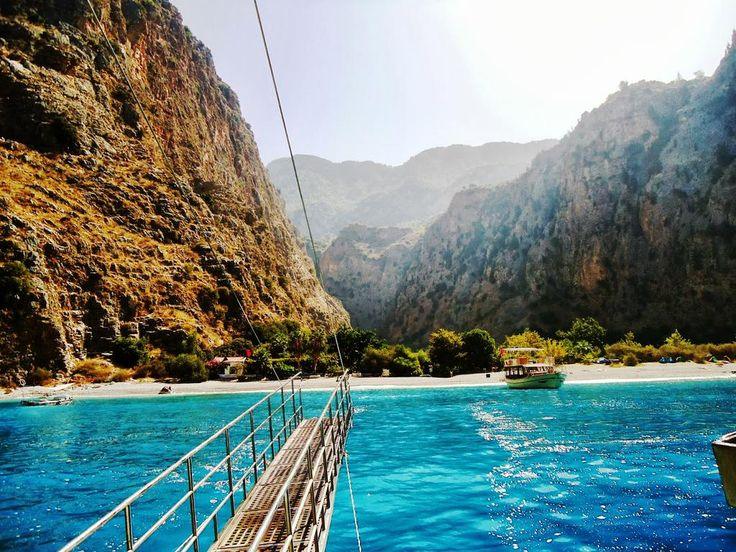 Visit Butterfly Valley on boat trip from #Oludeniz beach