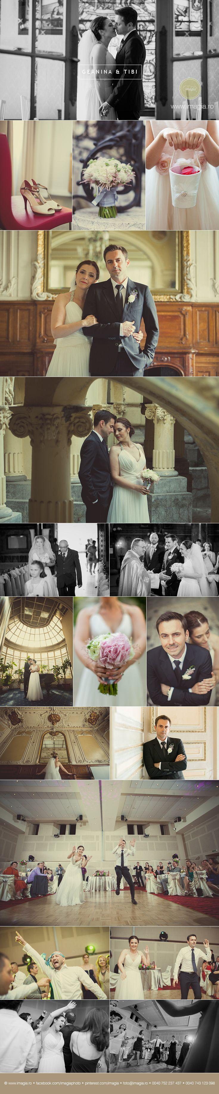 A Romanian wedding with a French twist in Bucharest:  http://www.imagia.ro/blogpage/fotograf-nunta-bucuresti-Tibi-si-Geanina-imagia  © IMAGIA / www.imagia.ro