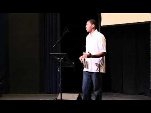 Wayne Simien speaks at Sterling College