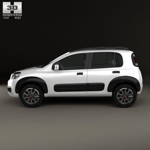 Fiat Uno Way 2015 Com Imagens Carros