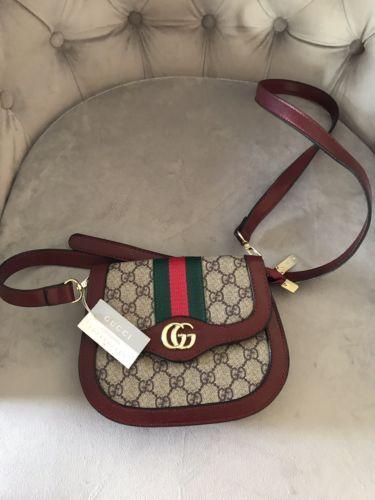 f5ea9d231f Details about Gucci Crossbody GG Monogram Shoulder Messenger Purse ...