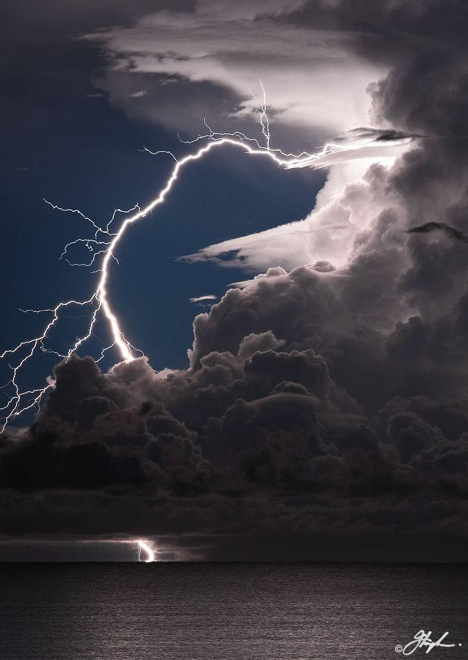 Sea Lightning.  Australia.