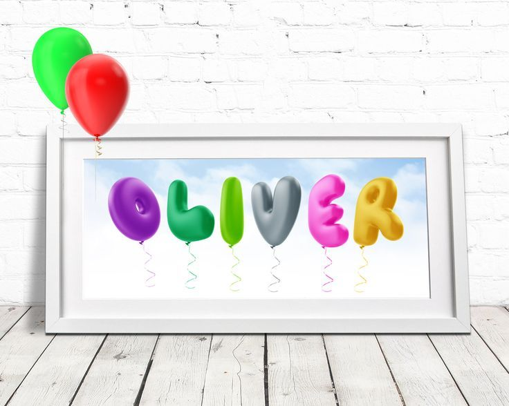 Balloon Alphabet / Childrens Name Art / Baby Room Decor / Personalised Baby Gift / Nursery Wall Art / Baby Name Plaque / Baby Name Art by AdventurousType on Etsy https://www.etsy.com/uk/listing/564526181/balloon-alphabet-childrens-name-art-baby