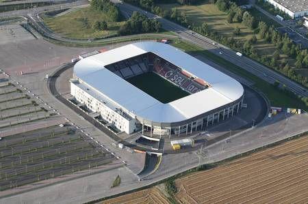 fc augsburg sgl arena football ground tyskland pinterest fc augsburg and augsburg. Black Bedroom Furniture Sets. Home Design Ideas