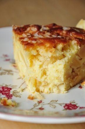 Heute ist hier ein großer Kuchen, sehr dick, verdient einen Sonntag nach …   – Food bonne pâte