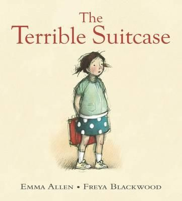 The Terrible Suitcase by Emma Allen & Freya Blackwood. Australian Picture Book. Age 4+. When a young girl is given a red suitcase instead  of a backpack decorated with rockets similar to the other children's starting school she is angry. However, by using her imagination the suitcase becomes a magical thing, drawing others into her game of space travel.