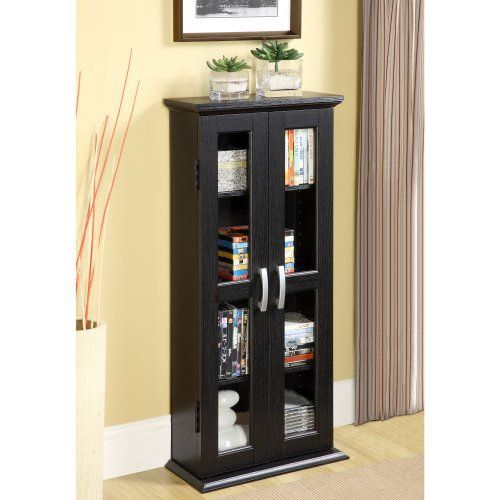 Elegance and function combine to give this contemporary wood DVD tower a striking appearance. The design gives a stylish modern look crafted with durable PVC laminate and MDF board. The interior holds approximately 100 DVDs, Blu-ray discs or other media. Affiliate Titan Pro The 6 Principles to... more details available at https://furniture.bestselleroutlets.com/game-recreation-room-furniture/tv-media-furniture/media-storage/product-review-for-walker-edison-41-media-storage-ca