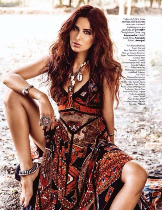 Katrina Kaif on #Vogue September 2015 .
