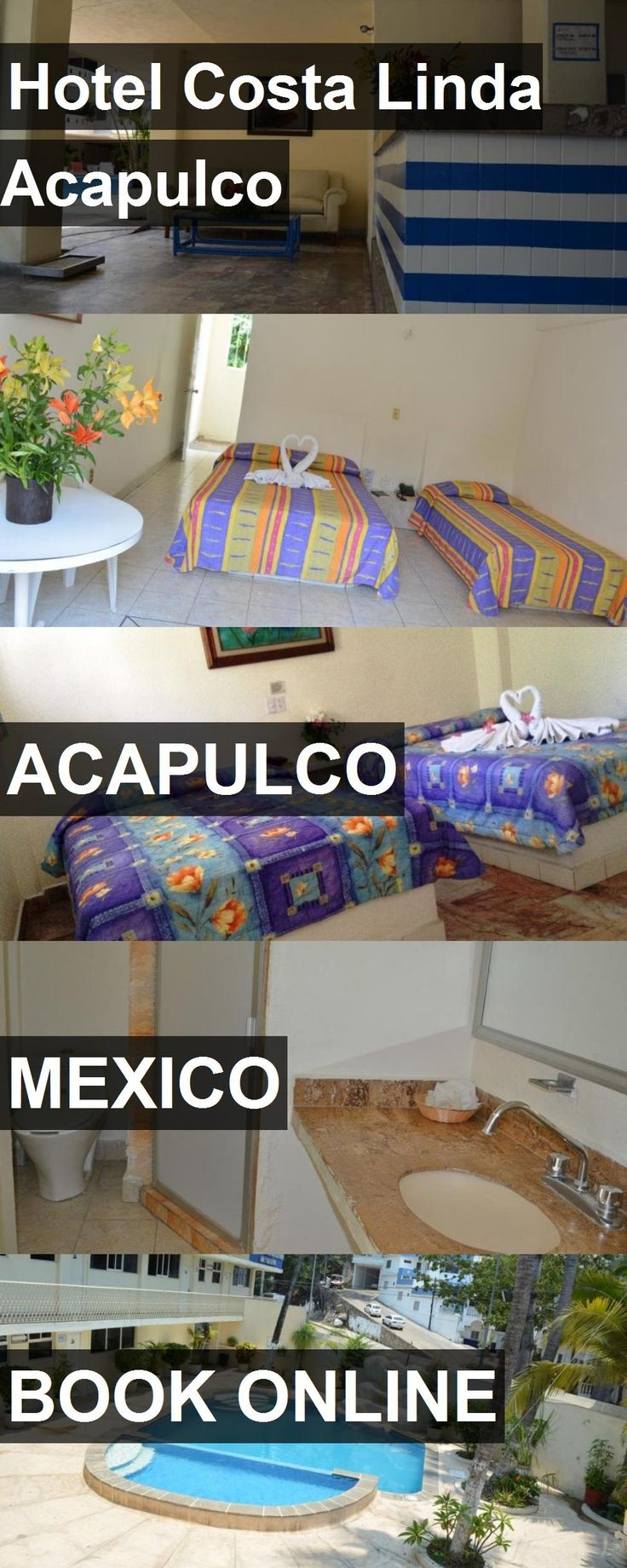 Hotel Costa Linda Acapulco in Acapulco, Mexico. For more information, photos, reviews and best prices please follow the link. #Mexico #Acapulco #travel #vacation #hotel
