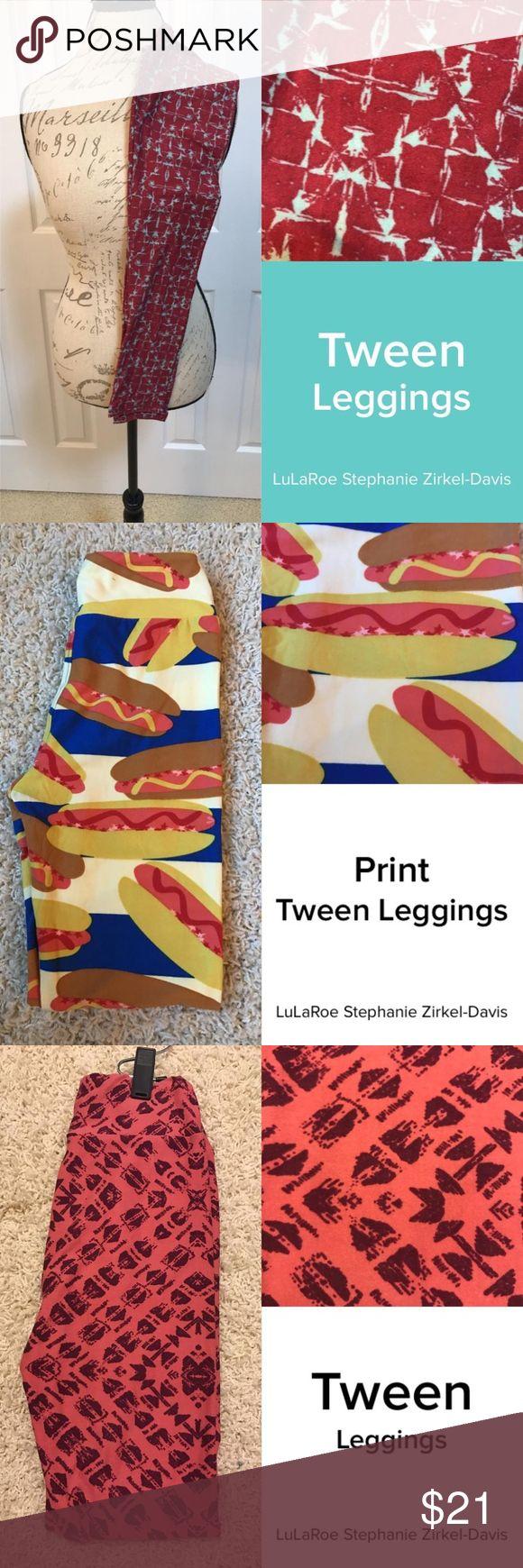 LuLaRoe Tween Legging LuLaRoe Tween Leggings LuLaRoe Pants Leggings