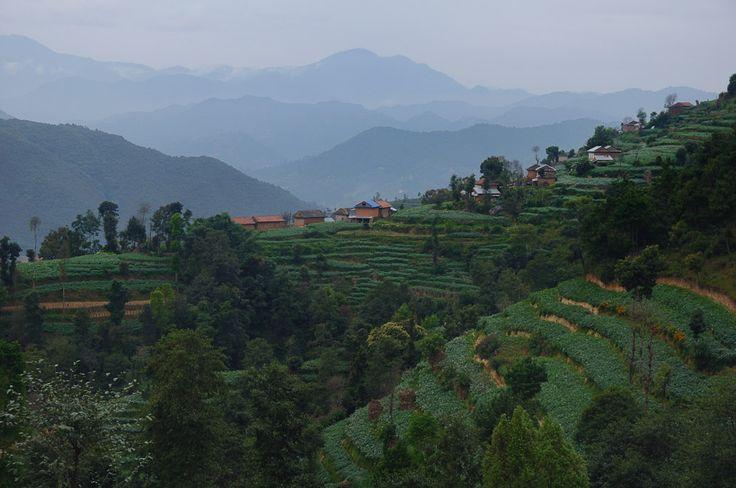 Nagarkot to Dhulikhel   Nepal   2014 http://www.honza-libor.cz/nepal-2014/