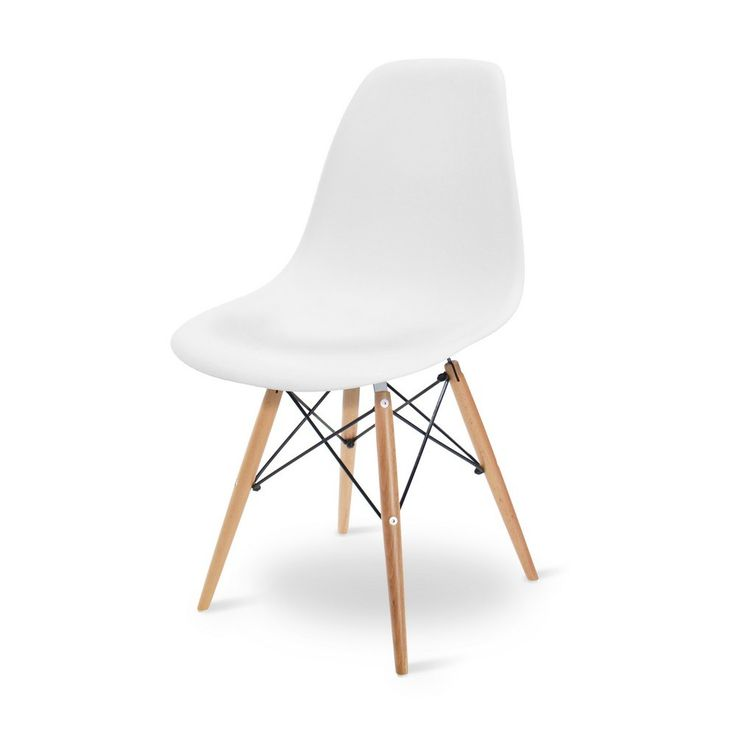Eames DSW Wit replica - Makeover.nl