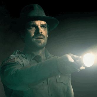 Chief Jim Hopper (David Harbour) - Stranger Thing