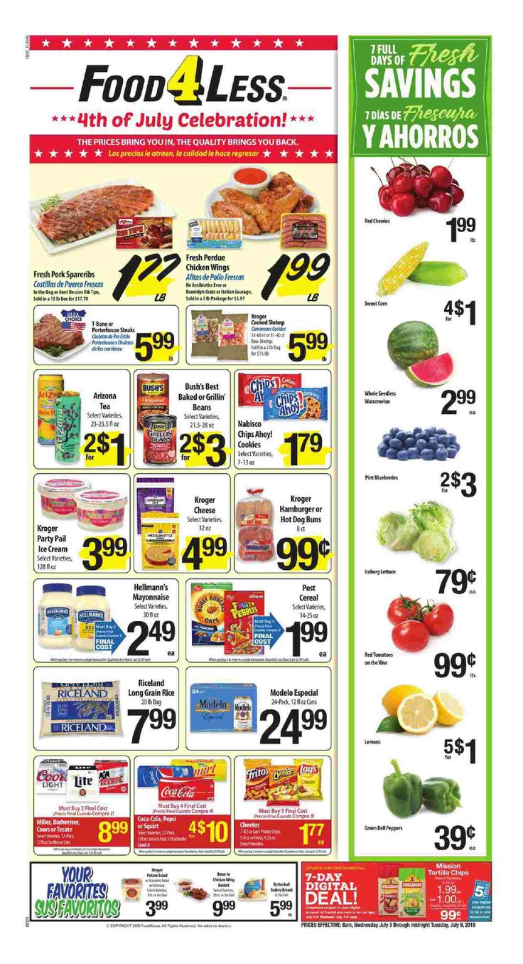Food 4 less weekly ad flyer apr 28 may 4 2021