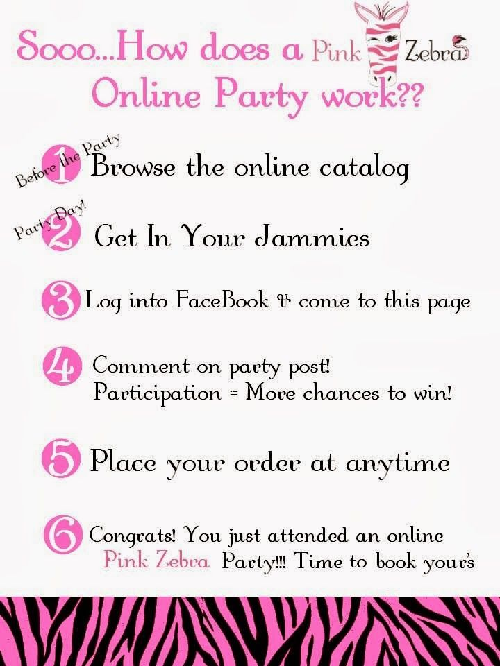Online Pink Zebra Party Party in your PJs!! Get free items for hosting. That Easy! https://pinkzebrahome.com/sharidoerr