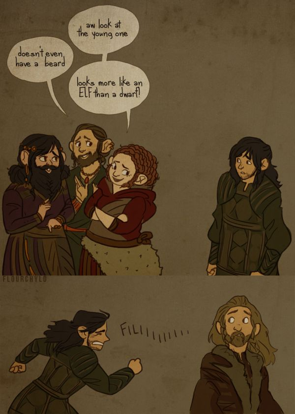 Lack of beard - apparently not majestic or popular among dwarven ladies (majestic among human ladies...maybe...)