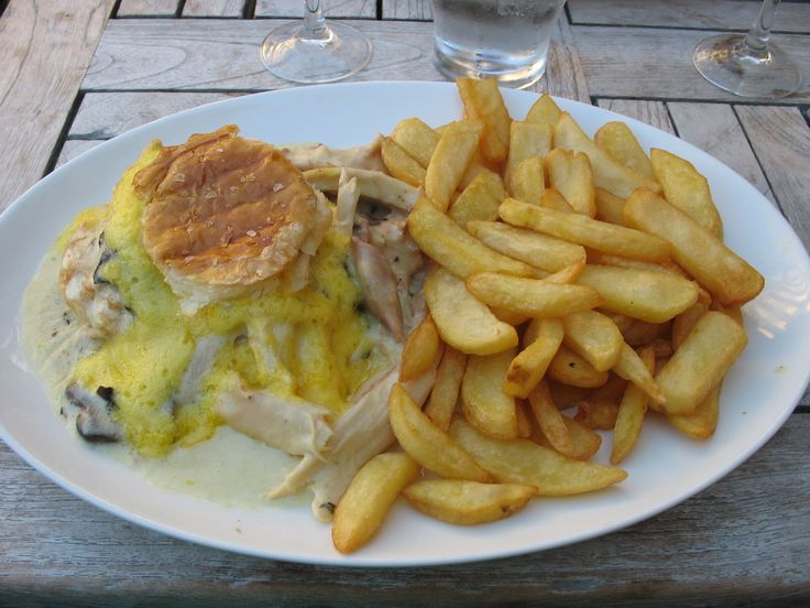 Vol Au Vent, eaten at a cafe in Brussels Marketplace square, Brussels, Belgium 2013