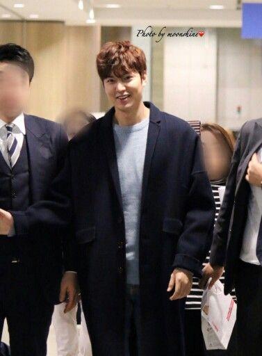 Lee Min Ho at GuangZhou Baiyun International Airport and Incheon International Airport - 29.10.2015