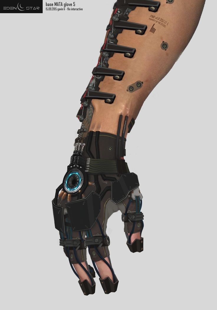 Eden Star Prop - Arm 'MATA Tool' Augmentation, Gavin Li on ArtStation at https://www.artstation.com/artwork/Xa3Aw