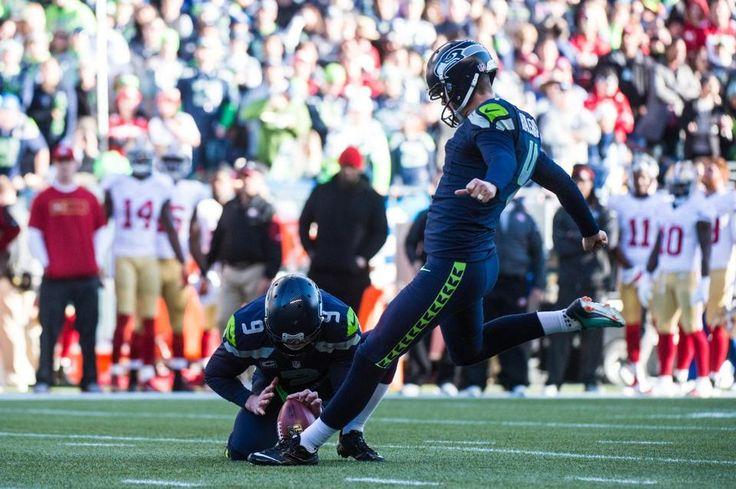Our man Hauschka!  - Seahawks vs 49ers