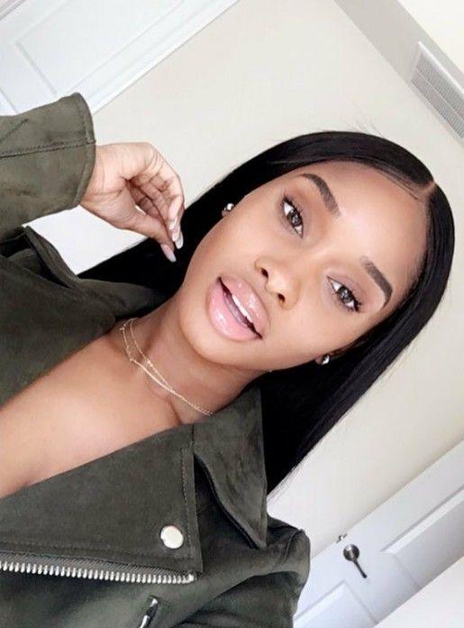 Snapchat:Theslimgal❤✨ Brown skin girls #blackbeauty Instagram:Therealprettygrl ❤ #Calinicole Her Snapchat:Realcalinicole