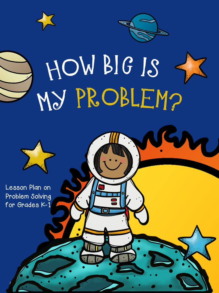 Guidance lesson on How Big Is My Problem for Grades K-1. NEVER create another guidance lesson again with our aligned K-6 guidance lessons! We've got more GUIDANCE LESSON Plans, all which are aligned for grades K-6! Each lesson plan has a Word doc for each grade level and a PDF that includes all interactive activities and printables. Conflict Resolution | Elementary Guidance Lessons