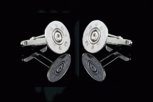Shot Gun Cartridge Cufflinks - County Equestrian Jewellers