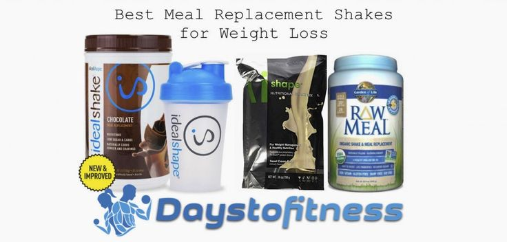 These are the best meal replacement shakes available on the market at 2016. My personal experience and my opinion.