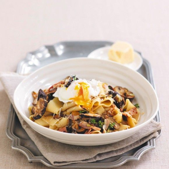 Collect this Mushroom, Leek & Pappadelle Ragu recipe by Australian Mushroom Growers. MYFOODBOOK.COM.AU | MAKE FREE COOKBOOKS