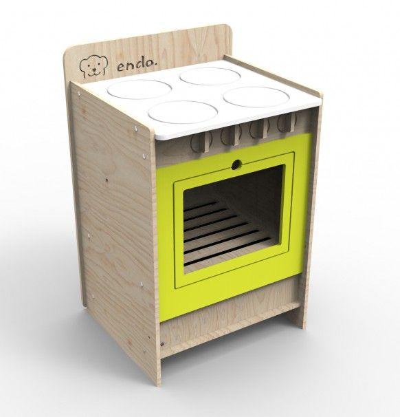 Drewniana kuchenka dla dziecka SMM029_1