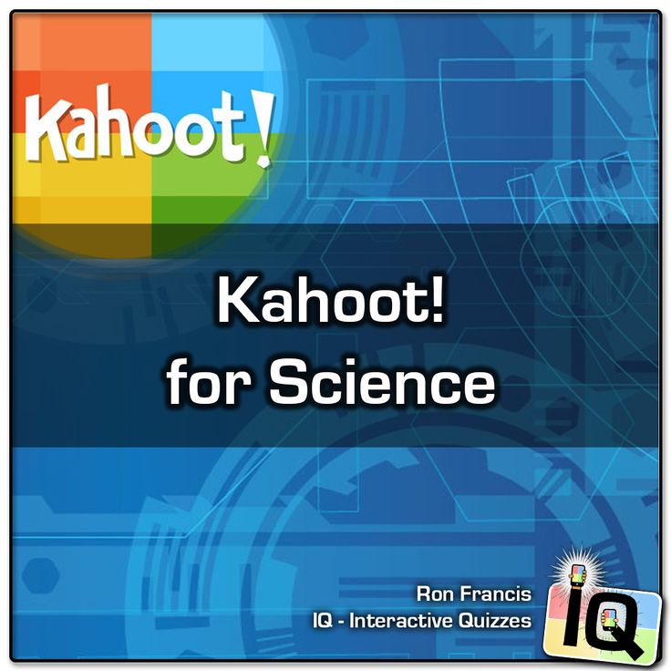 17 best Kahoot! Games for Science images on Pinterest | Games ...