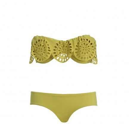 Cutee: Summer Suits, Green Lace, So Cute, Swimsuits, Bath Suits, Cute Love, Cut Outs, Yellow Bikini, Swim Suits