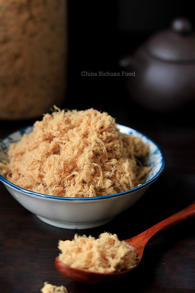 AHH. I have ALWAYS wondered how people make this at home!!! The secret is now mine.  Homemade meat floss