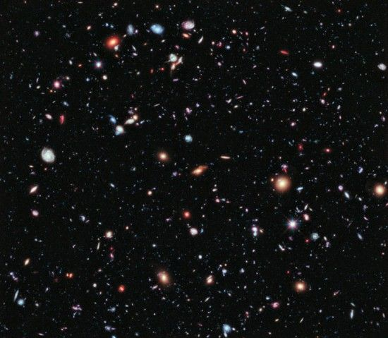 This is the Farthest-Ever View of the Universe