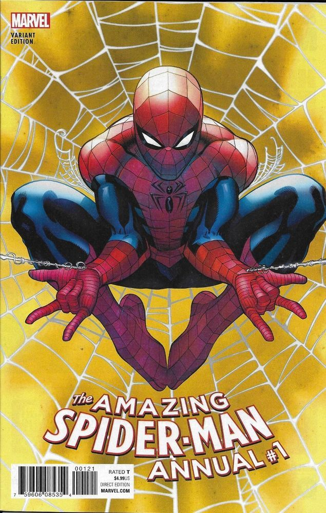 The Amazing Spider-Man Comic Issue 1 Annual Limited Variant