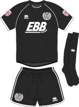 Aldershot Town FC Football Kits 2011-2013 3rd Kit